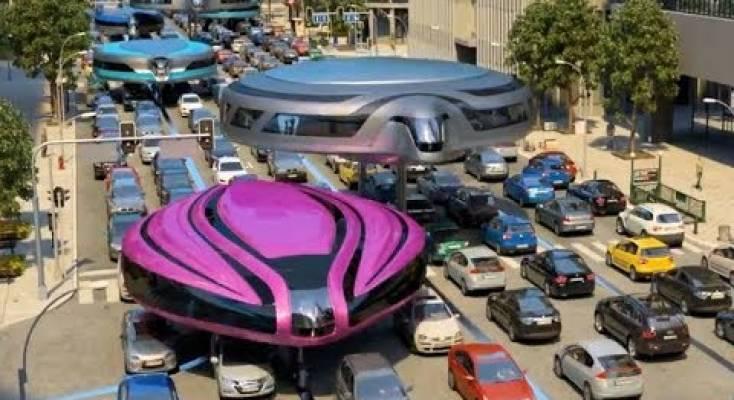 صورة فيديو | مصمم يتخيل شكل وسائل النقل الجماعي في المستقبل