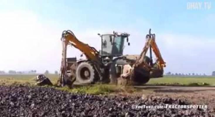 صورة فيديو | عندما تتدخل التكنولوجيا في الزراعة