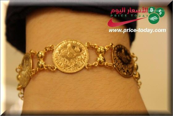 صورة سعر ليرة الذهب بالشيكل و الدينار الاردني
