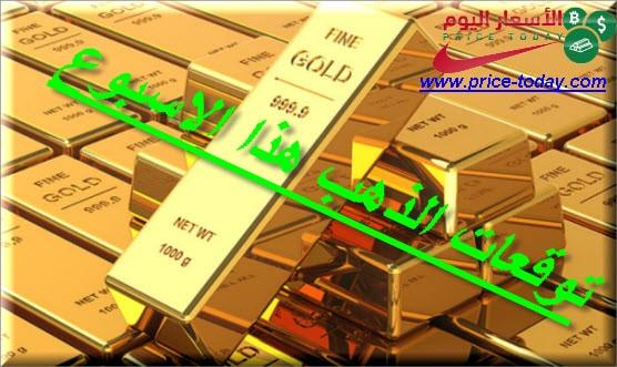 Photo of توقعات الذهب هذا الاسبوع الى تاريخ 10/7/2020