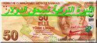 الدولار مقابل الليرة التركية