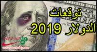 توقعات سعر الدولار 2019