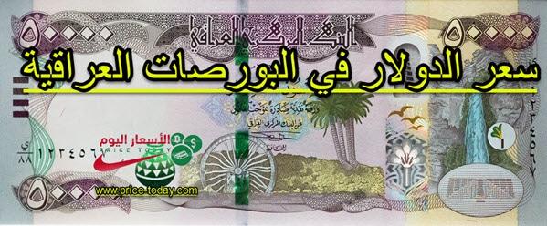 صورة اسعار الدولار في العراق اليوم 25/1/2021