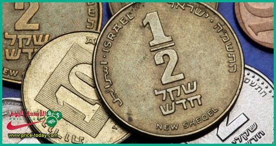 سعر الدولار مقابل الشيكل