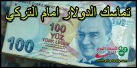 الدولار يتنفس الصعداء امام الليرة التركية