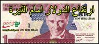 سعر الدولار مقابل الليرة التركية