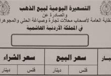 صورة انخفاض اسعار الذهب في الاردن اليوم 22/9/2020