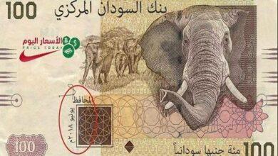 صورة اسعار العملات في السودان اليوم 11/1/2021